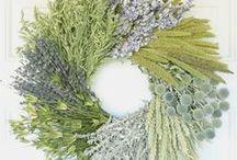 Fiori ed eventi / fiori e decorazioni con materiali naturali simpatiche per casa, eventi e tradizioni dal mondo
