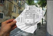Pencil And Camera / Creative Art