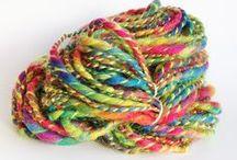 Artyfibres Etsy Shop / Artyfibres handspun yarns, spinning fibres and handmade gifts