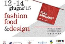 Stile Artigiano Fashion, Food & Design Genova 2015