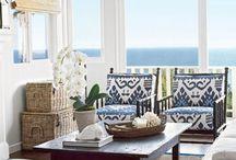 Beach house / Inspirational photos of interior design with a beachside theme