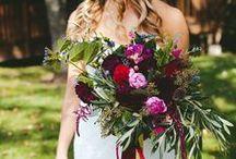 Wedding Florals / Gorgeous wedding florals that help inspire our work!