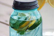 Eau infusé | Infused water / Detox!!:-)
