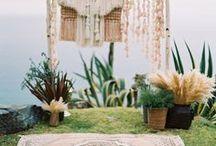 Pampas Gras Hochzeitstrend / Pampas Gras auf Hochzeiten, Hochzeitsdeko Pampas Gras, Pampas Gras Brautstrauß