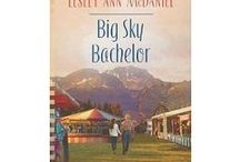 """Big Sky Bachelor / Inspiration board for """"Big Sky Bachelor"""", Book #2 in the """"Montana Hearts"""" romance series, published by Heartsong Presents (Love Inspired); an imprint of Harlequin."""