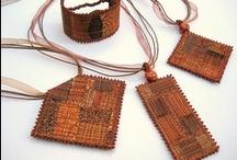 Tors jewellery / My handcrafted textile art jewellery
