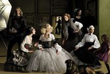 Photo project: renaissance revisited / Famous renaissance paintings recreated in a contemporary way