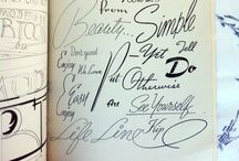 Letters & Paper / Spectacular examples of typography and hand-lettering!