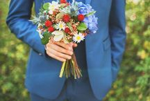 Weddings / All the borrowed and blue details.