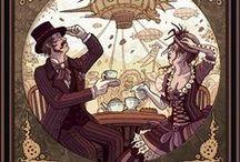 StEamPUnK Wedding inspiration\\Свадьба в стиле стимпанк / #steampunk #стимпанк #свадебныйдекор