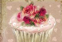 Cup cake vintage
