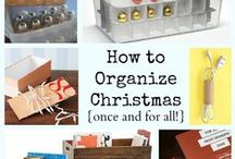 Christmas inspiration / Ideas to help your store your decorations and get organised!