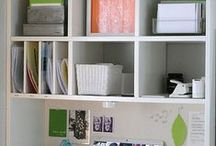 Home office / Ideas to help you create a more productive workspace- however small