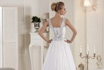 Carla Sposa wedding line / Fresh, impeccable, fascinating  and available Carla Sposa collection was started in 2008. It is perfectly balanced price, high quality and stunning design.