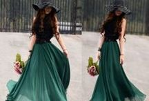 Long skirts and dresses / Just because I'm a woman