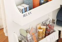 Bathrooms / Keep your bathroom decluttered and organised.