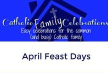 April Catholic Feast Days