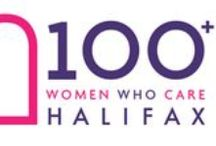 100 Women Who Care Halifax / We bring together women in Halifax, NS Canada who care about local community causes and meet for one hour to select a local charity to support grass root activities. Our organization was formed in November 2012 and is one of a growing number of Canadian 100 Women Who Care groups. 100 Women Who Care Halifax was founded by Jennifer Salib Huber and Colette Robicheau. #charity #giveback