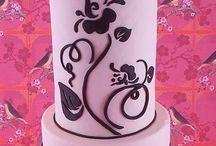 Cake Decorating Pink