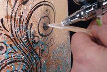 Cake Air Brush & Paint Tutorial
