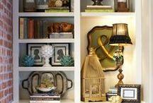 Bookcase Styling Inspiration / by Ingrid Cordak