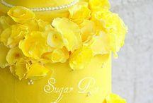 Cake Decorating Yellow