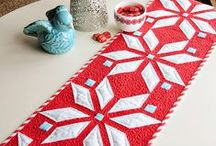Quilted: table runners / by Cecelia Morford