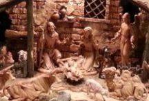 Fontanini Nativity / Our Christmas nativity display / by Barbara Moser