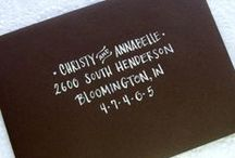 | Save The Date | Invitations | / Design viewpoint on wedding invitations and RSVP's
