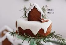 Christmas Cakes: Simply Done / Christmas cake recipes, and ideas for easy decorating of