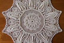 салфетки скатерти коврики