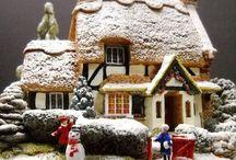 Christmas Village / Inspiration for a Christmas Village