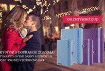 Valentýnské Duo Lanybook / Dva zápisníky nyní s dopravou zdarma! Oslavte Valentýna stylovými dárky a pořiďte si Smartbook pro ni i pro něj v jedinečné akci