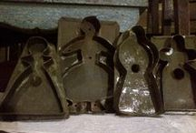 Old Tin Cookie Cutters / by Anne Nichols