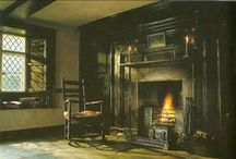 Country Fireplace / by Anne Nichols