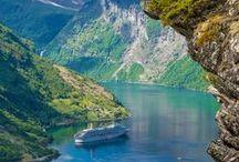 Noruega / En nuestros viajes a Noruega podrás descubrir paisajes espectaculares: Desde fiordos a glaciares y, por supuesto, ciudades encantadoras.