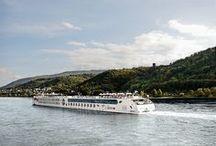Cruceros fluviales por el Rhin / En nuestros cruceros fluviales por el Rhin, descubriremos ciudades espectaculares, paisajes increíbles y todo a bordo de bacos de 4****Lujo