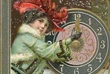 Cards - Vintage New Year / by Anne Nichols