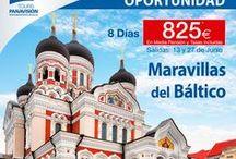 Las mejores ofertas de viajes / Nuestras mejores ofertas para viajar. Puedes encontrar estas promociones en www.panavision-tours.es
