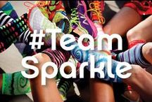#TeamSparkle / #TeamSparkle knows how to have a BLAST while running! Check out every day runners wearing Sparkle Athletic gear in races or even on training runs.