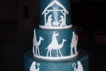 Christmas Cake Nativity