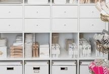 For the home: Storage, Cleaning, and Organization ideas / Tips to organize your home. Lots of creative storage and organization solutions.