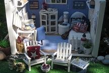 Dollhouse beach inspiration / by Inge
