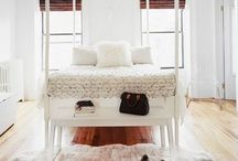 Inspiration for bedroom  / Bedrooms that I like the feel and style of!
