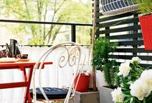 Outdoor living / Outdoor setting area and setups by the pool, outdoor living <3