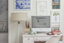 So work looks fun... / Desk arrangements