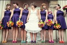 Bridesmaids / maid of honor, matron of honor or your junior bridesmaids; they're all there to help you on your wedding day. They make it beautiful too..