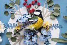 Paper art  | Design / Paper craft, art in paper