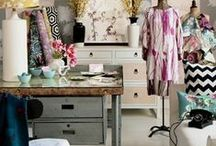 Workspace: eclectic and creative!