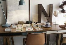 Cool workspaces!  / If you have to work at home, do it in style! Home office and studies with class